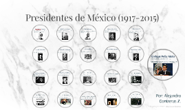 Presidentes de México (1917-2015)
