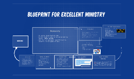 Copy of Blueprint For excellent ministry