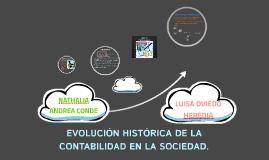 Copy of EVOLUCIÓN HISTÓRICA DE LA CONTABILIDAD EN LA SOCIEDAD.