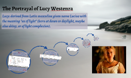 The Portrayal of Lucy Westenra