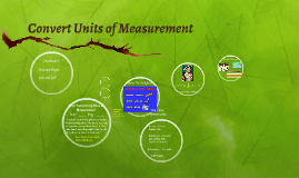 Convert Units of Measurement