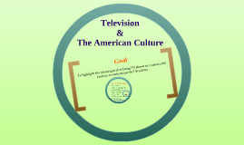 Television and The US Culture