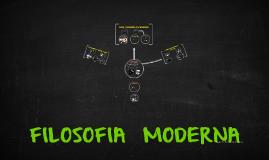 Copy of FILOSOFIA MODERNA