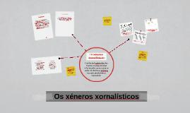 Copy of Os xéneros xornalísticos