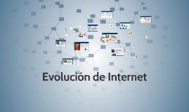 Evolucion de la internet