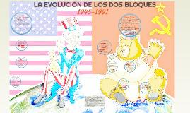 LA EVOLUCIÓN DE LOS DOS BLOQUES