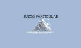 JUICIO PARTICULAR