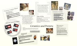 Copy of Ceramics and Pottery