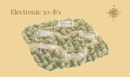 Electronic 50-B's