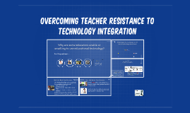 Overcoming teacher resistance to technology integration