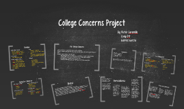 College Concerns Project