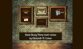 Copy of Steal Away Home book review
