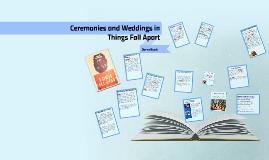 Copy of Ceremonies and Weddings in Things Fall Apart