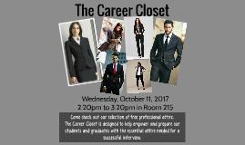 Copy of Copy of The Career Closet