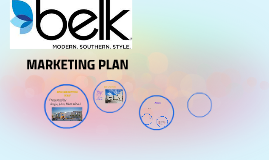 Belk Marketing Plan