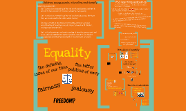 Principles of Equality