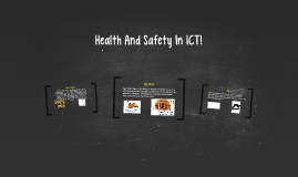 Health And Safety In ICT!