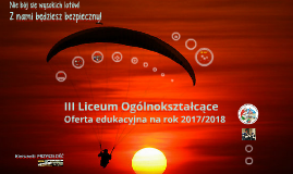 Copy of W skrócie Oferta edukacyjna 2017/2018