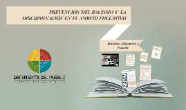 Copy of Racismo en la Educacion