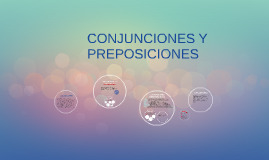 Copy of CONJUNCIONES Y PREPOSICIONES