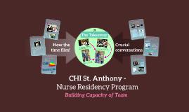 CHI Nurse Residency Program