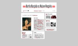 Martin Margiela vs Maison MArgiela