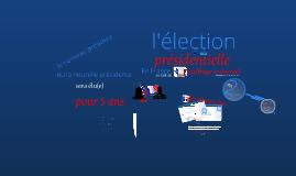 Copy of Copy of France - élections présidentielles