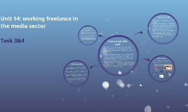 Unit 14: working freelance in the media sector