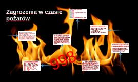 Zagrożenia w czasie pożarów