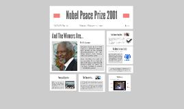 Nobel Peace Prize 2001