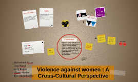 Copy of Violence against women : A Cross-Cultural Perspective