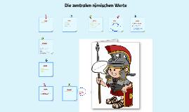 Copy of Die Werte der Römer