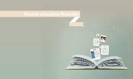Copy of Modelo educativo finlandés