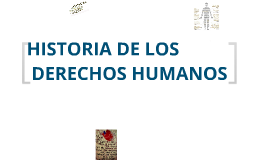 Copy of Linea del tiempo de los Derechos Humanos
