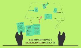 Copy of RETROACTIVIDAD Y ULTRACTIVIDAD DE LA LY