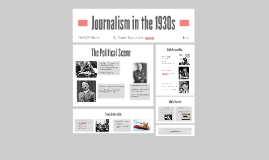 Journalism in the 1930s