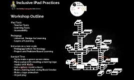 Inclusive iPad Practices