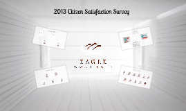 Brief Report: Eagle Mountain Citizen Survey Results