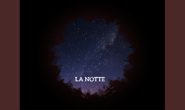 LA NOTTE ELIE