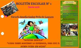 Boletín Escolar Escuela Amelia Godoy Peña de Lautaro