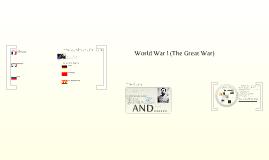 Copy of World War I