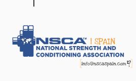 ORIGINAL NSCA Spain Universidades. Octubre 2013