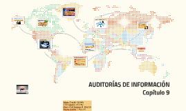 AUDITORÍAS DE INFORMACIÓN