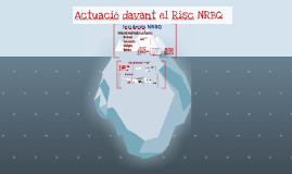 2015 Actuació del TES davant el Risc NRBQ