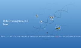 Los organismos transgénicos