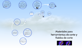 Materiales para herramientas de corte y fluidos de corte