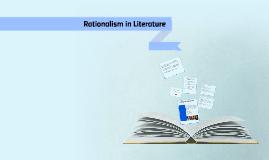 Rationalism in Literature