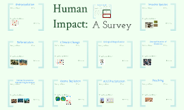 Copy of AP Bio: Ecology 6- Human Impact:  A Collaborative Student Project