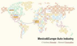 Copy of Current trade statistics between Mexico and the EU regarding