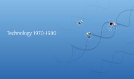 Technology 1970-1980